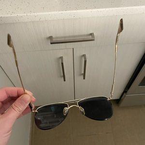 Le Specs Accessories - Le Specs rose gold sunglasses